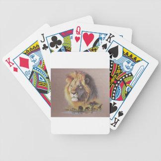 Lejon Safari Spelkort