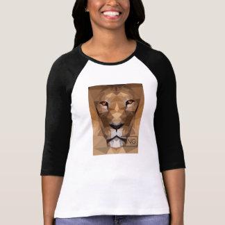 Lejon sleeve för huvud 3/4 tee shirt