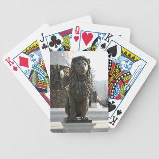 Lejon staty - Makedonien Spelkort
