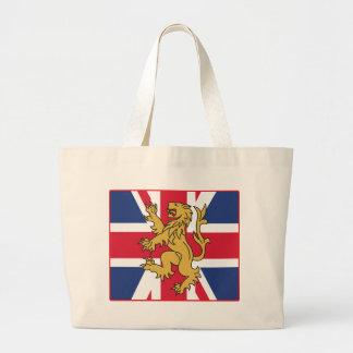 Lejon UK-flagga Kasse