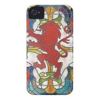 Lejon vapensköld för målat glass Case-Mate iPhone 4 fodraler
