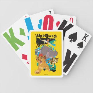 Lejon vild för vakt | en spelkort