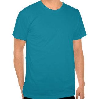 Lejona blått för Hipster Tee Shirt