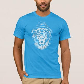 Lejona blått för Hipster Tröja