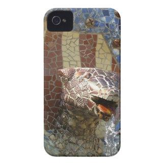 Lejona Gaudi iPhone 4 Case-Mate Skydd