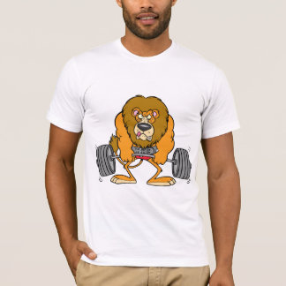 Lejona Lifing väger manar T-tröja Tee Shirts