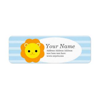 lejona returadressklistermärkear returadress etikett