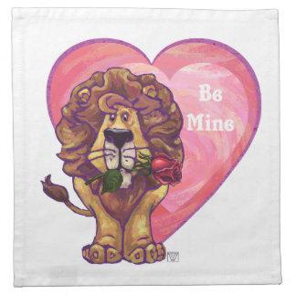 Lejona valentin dag tygservett