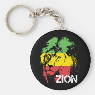 Lejona Zion Rund Nyckelring