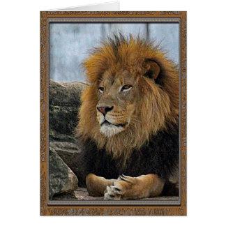 Lejont 6880 födelsedag kort