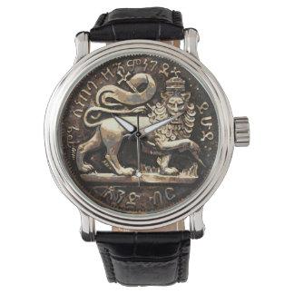 Lejont av forntida lejon guld- design för Judah Armbandsur