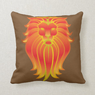 Lejont huvud kudde