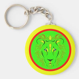 Lejont Rund Nyckelring