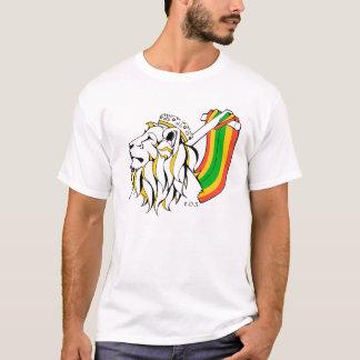 Lejont stiga för Rasta Reggae T Shirt