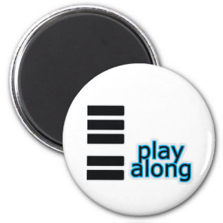 Lek Along - piano Magnet