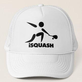 Lek av squashiSquashlogotypen Truckerkeps