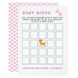Lek för Bingo för baby shower för vinter   för 12,7 X 17,8 Cm Inbjudningskort