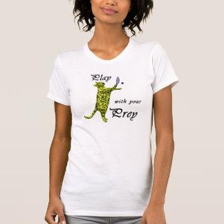 Lek med ditt rov (racquetballen) tee shirts