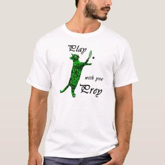 Lek med ditt rov (Raquetball) Tee Shirt