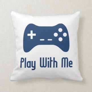 Lek med mig videospel kudde
