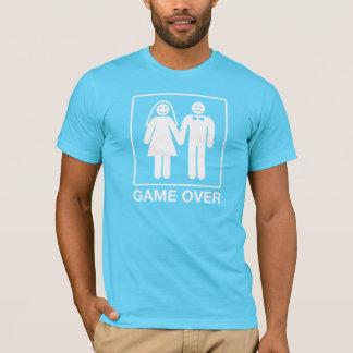 Lek över brudgumskjortan - turkos t shirts