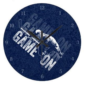 Lek på (hockey) stor klocka
