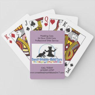 Leka det framåtriktat spelkort