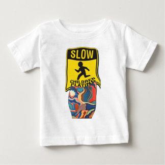 Leka för barn för hästsko långsamt tshirts