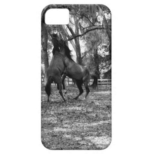 Leka för häst iPhone 5 Case-Mate skal