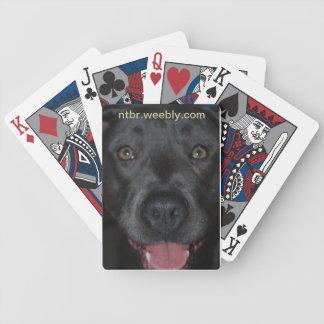 Leka för översittaren spelkort