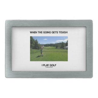 Leka Golf, när gå får tuffen mig (golfare)