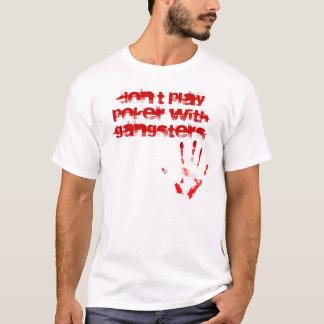 Leka inte poker med gangster tröjor