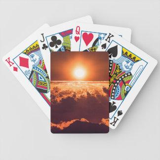 Leka kort för Haleakala soluppgång | Spelkort