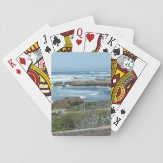 Leka kort, Pebble Beach i Kalifornien Kortlek