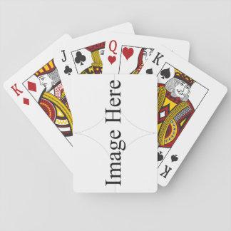 Leka kort, standarda indexansikten kortlek