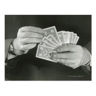 Leka kort vykort