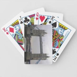 Leka kortdäcket med torn överbrygga, London Spelkort