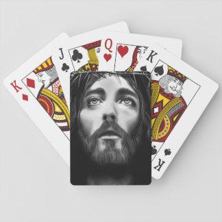 Leka kortdäcket spel kort