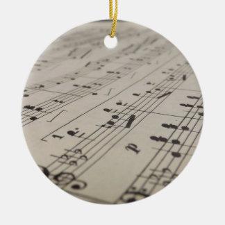 Leka mig en sångprydnad julgransprydnad keramik