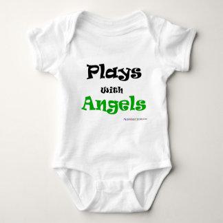 Lekar med änglar tee shirt