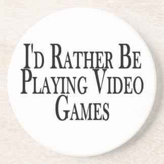 Leker ganska videospel underlägg