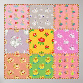 Leksaker 2 för flickor för affischbarnkonst poster