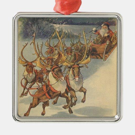 Leksaker för Sleigh för ren för Jul Dekorationer