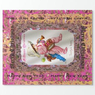 Leksaker från Santa Victoriandropp Presentpapper