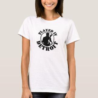 Lekt i Detroit för kvinnor T-shirts