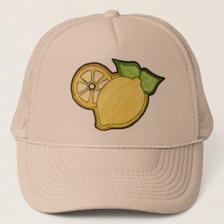 Lemonawsome Skissa-Logotyp hatt Truckerkeps