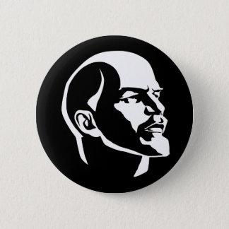 Lenin huvud standard knapp rund 5.7 cm
