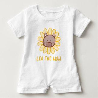 Leo den lejona Keiki Aloha romperen T-shirt