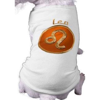 Leo - det astrologiskt undertecknar husdjurströja