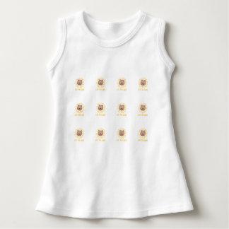 Leo det lejont - baby-/småbarnklänning tshirts